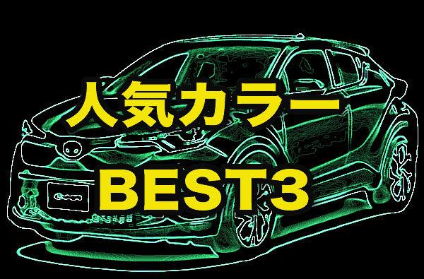 トヨタ「C-HR」人気カラーランキング、実際に売れてる色は?